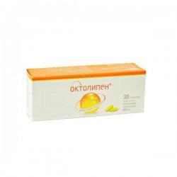 Октолипен, табл. п/о пленочной 600 мг №30